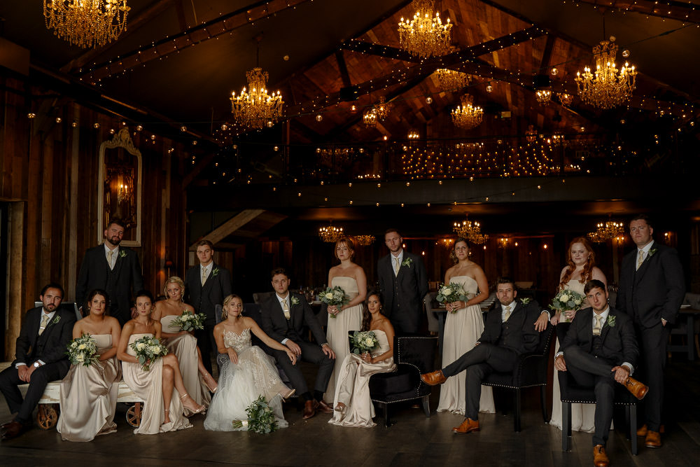 Industrial Barn Wedding Toast Of Leeds