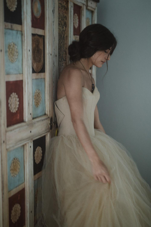 Dress Gown Bride Bridal Vera Wang Princess Tulle Yellow Le Marche Wedding Inspiration Francesca Angrisano
