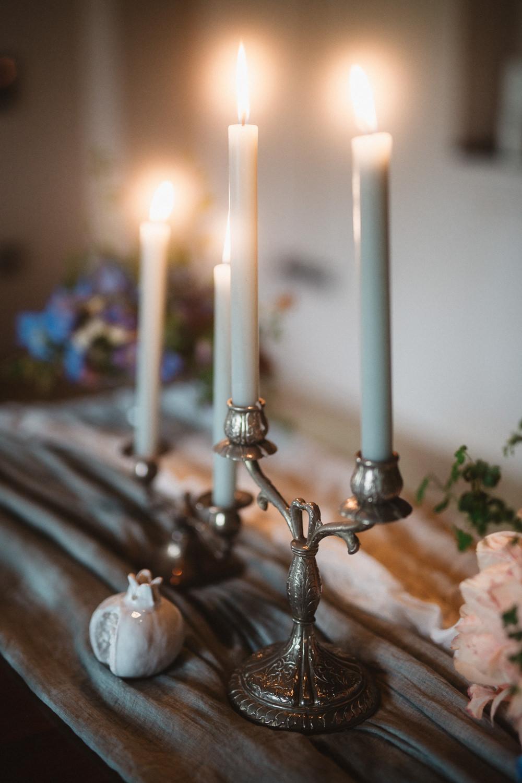 Candlesticks Decor Table Le Marche Wedding Inspiration Francesca Angrisano