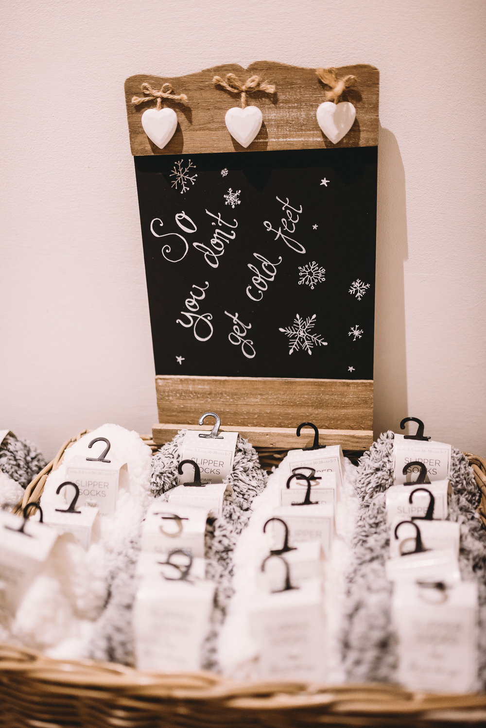 Socks Favours Favors Maidens Barn Wedding Sophie Oldhamstead Photography