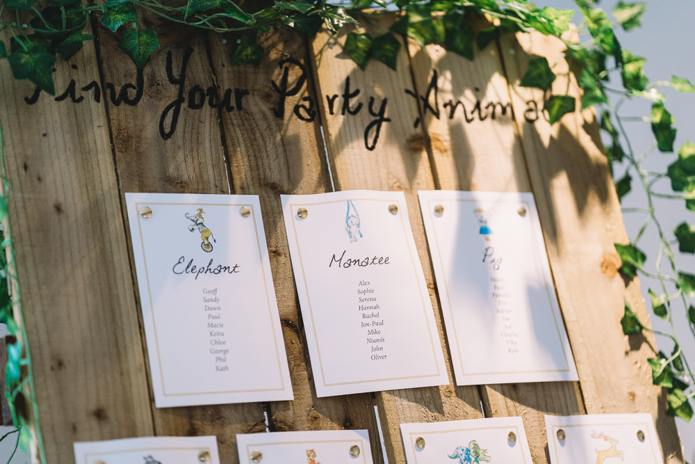 Wooden Greenery Foliage Seating Plan Table Chart Maidens Barn Wedding Sophie Oldhamstead Photography