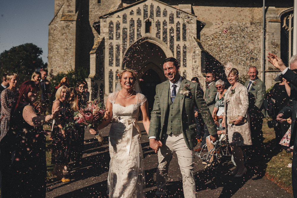 Confetti Throw Marquee Wedding Home The Chamberlins