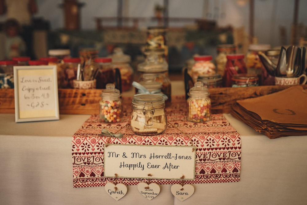 Emma Bridgewater Table Cloth Sweets Sweetie Table Marquee Wedding Home The Chamberlins