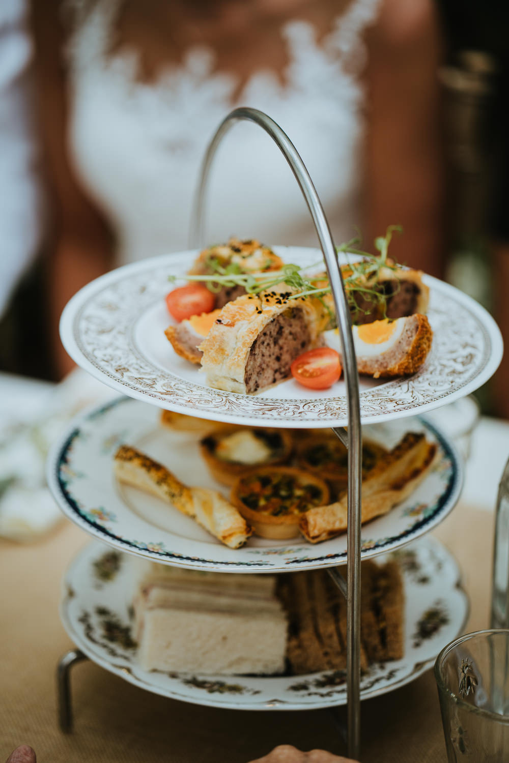 Afternoon Tea Meal Micro Wedding Nicola Dawson Photography