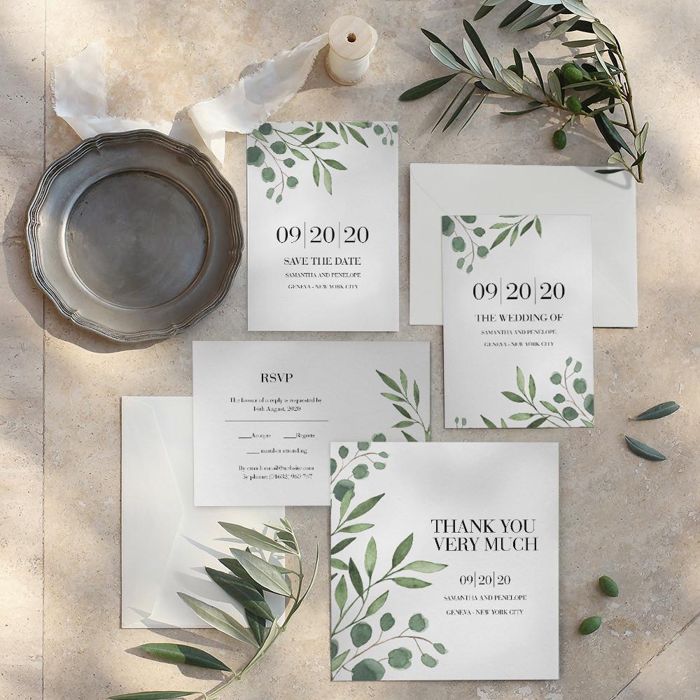 Stylish Wedding Stationery & Invitations with Optimalprint