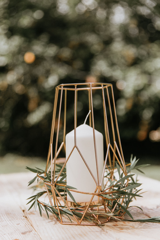 Terrarium Wire Candle Holder Greenery Summer Boho Wedding Wild Tide Weddings