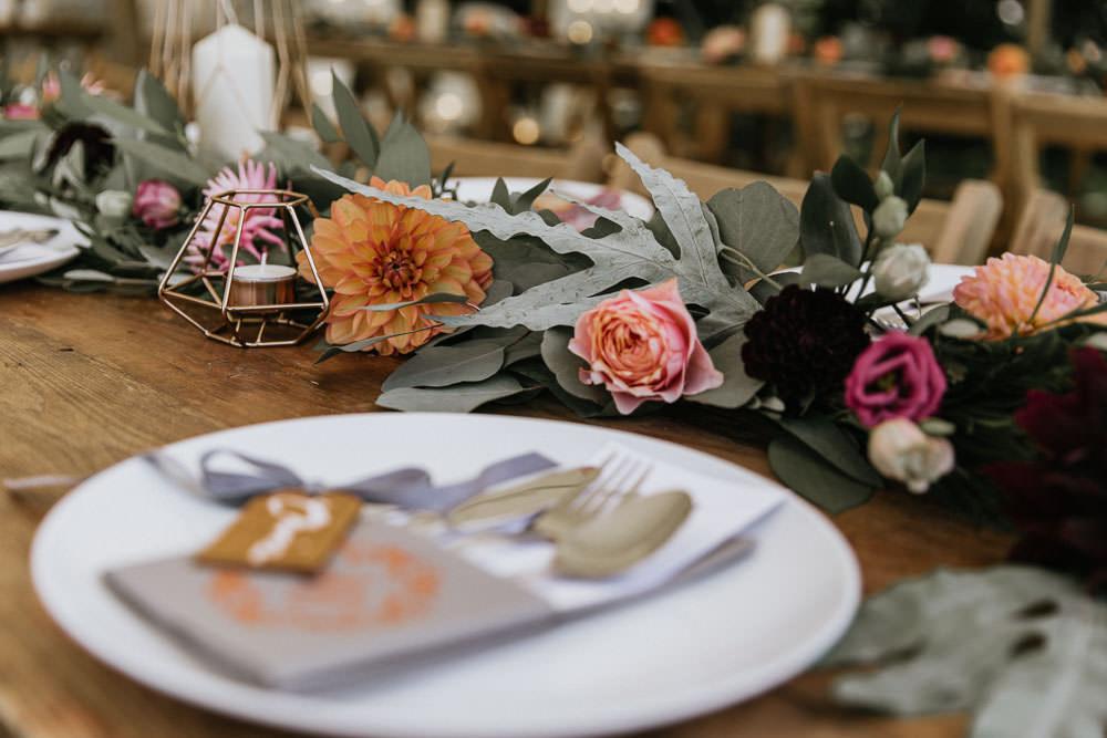 Flower Garland Swag Summer Boho Wedding Wild Tide Weddings