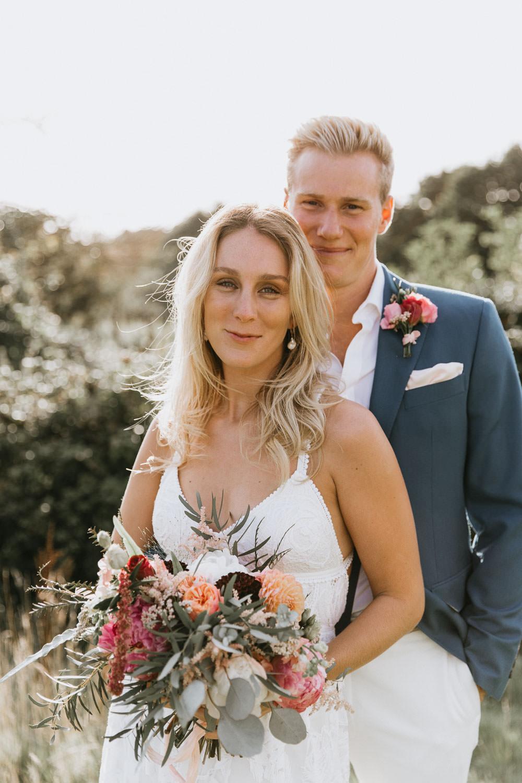 Summer Boho Wedding Wild Tide Weddings Bride Bridal Hair Make Up