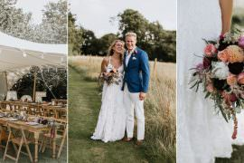 Summer Boho Wedding Wild Tide Weddings