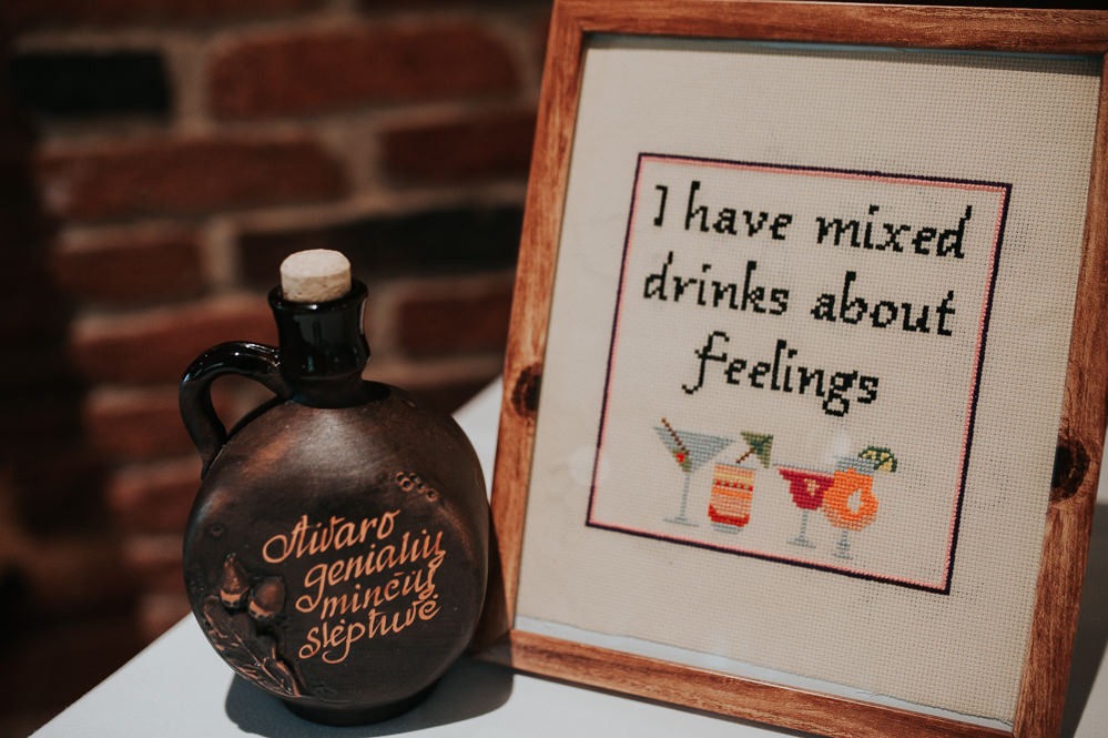 Drinks Bar Sign Signs Signage Swancar Farm Country House Wedding Maree Frances Photography