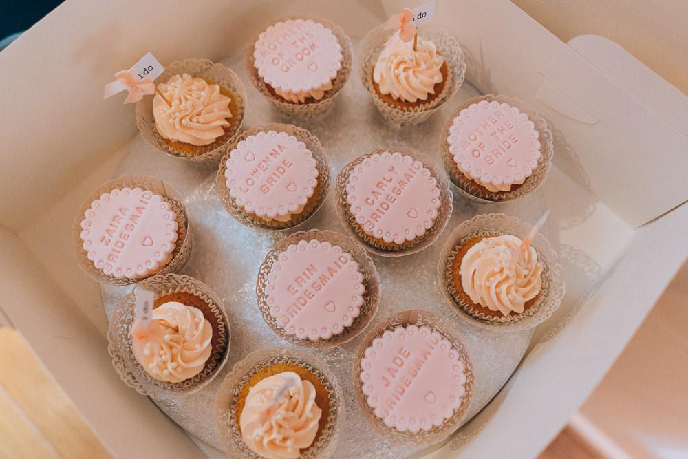 Cupcakes Bride Bridal Prep Tullibole Castle Wedding Casey Avenue Photography