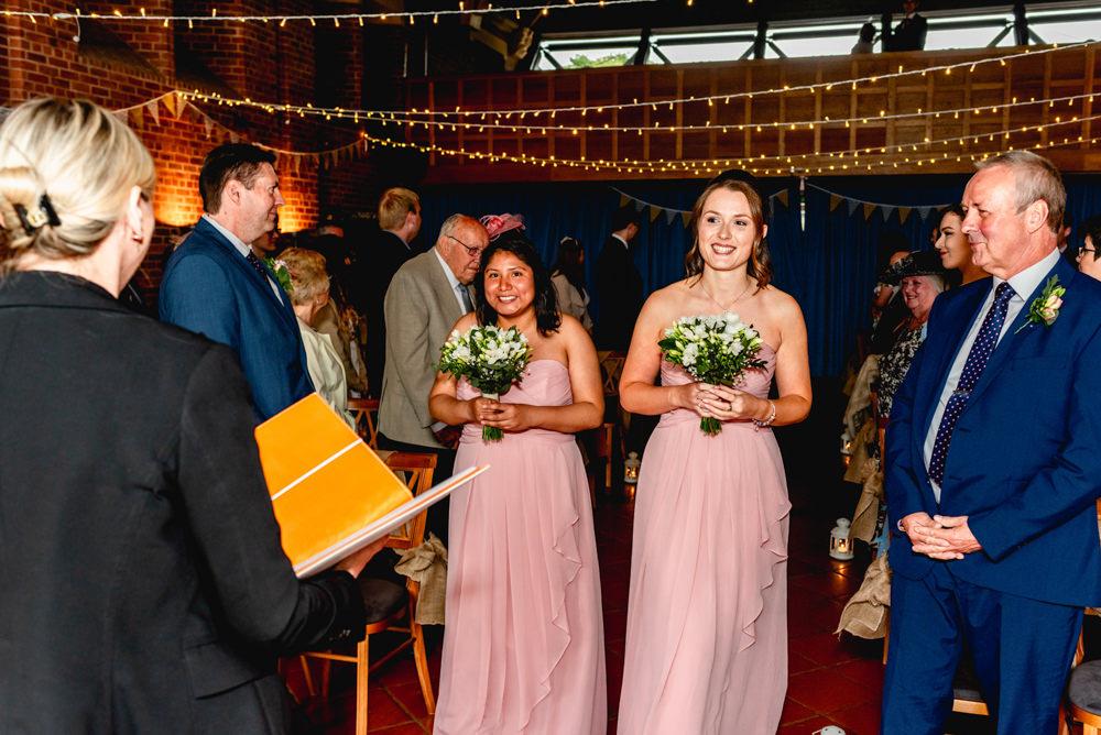 Pink Groomsmaid Dress Dresses Avoncroft Museum Wedding Lisa Carpenter Photography