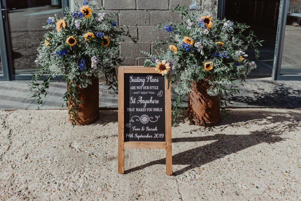 Table Plan Seating Chart Sign Signs Signage Sit Anywhere Barns Lodge Farm Wedding Stevie Jay Photography