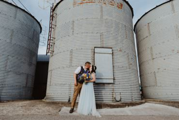 Boho Wedfest Vegan Barn Wedding with DIY Decor