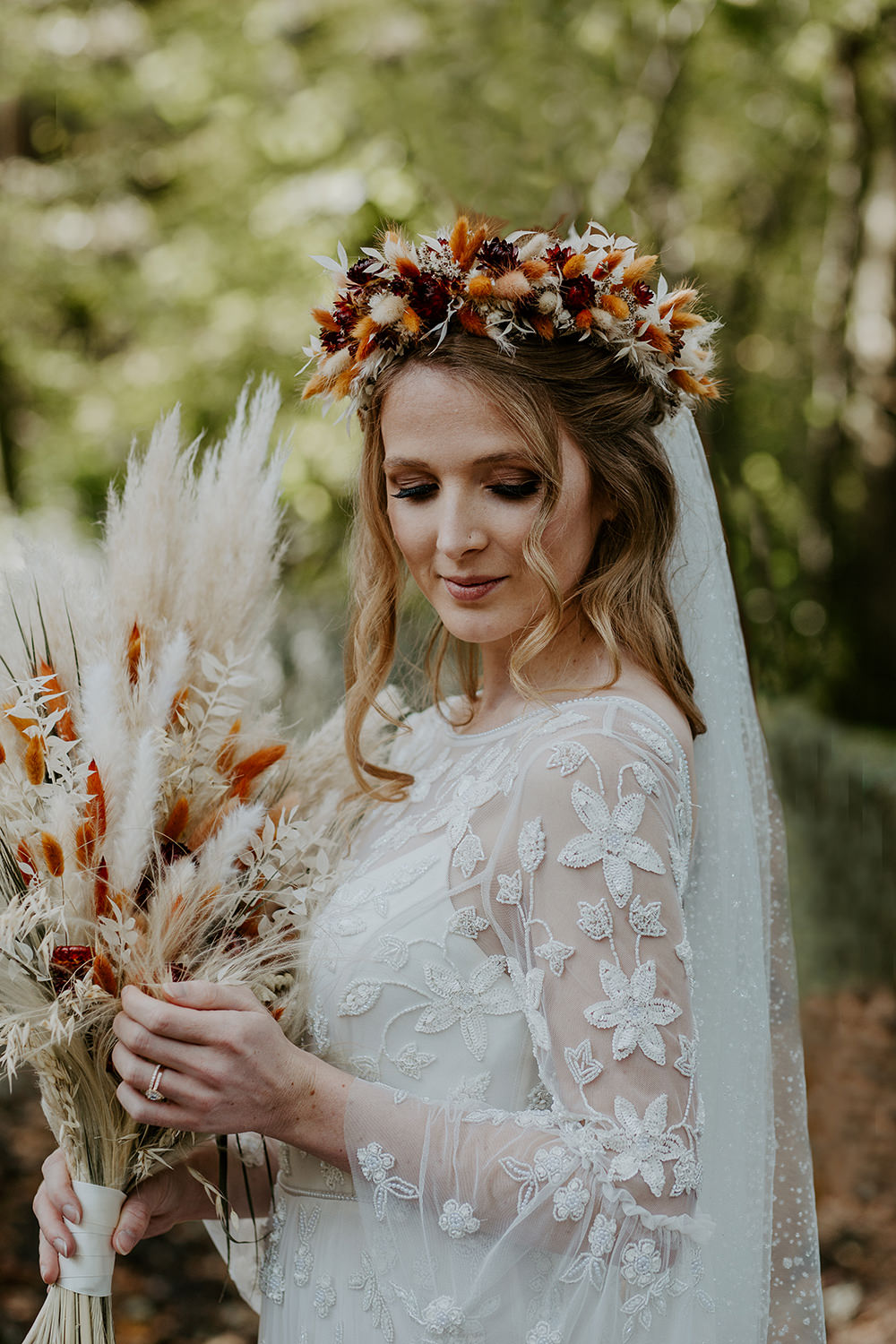 Bride Bridal Make Up Boho Wedding Ideas The Enlight Project