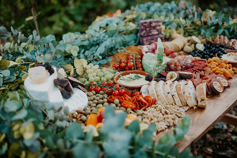 Grazing Table Food Sharing Platter Boho Wedding Ideas The Enlight Project