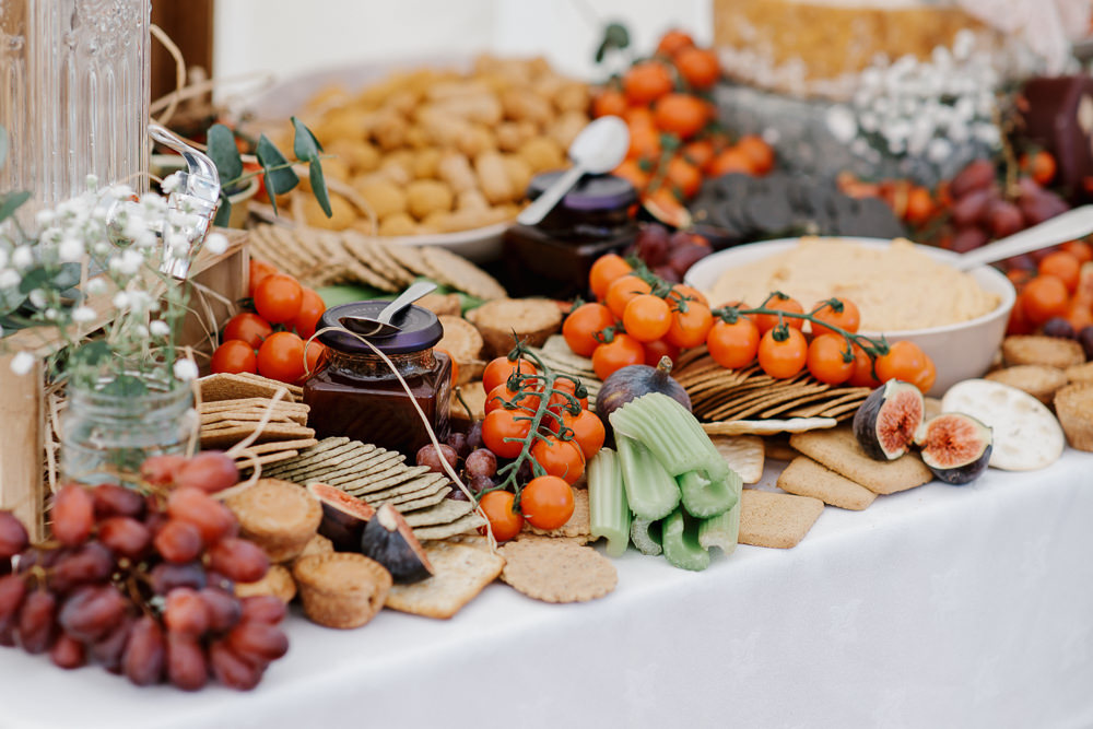 Grazing Table Sharing Platter Cotswolds Marquee Wedding Jessy Papasavva Photography