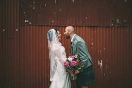 Dalduff Farm Wedding Northern Aye Photography