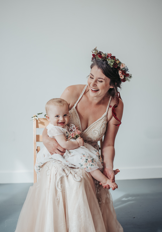 Flower Girl Eco Friendly Wedding Inspiration Sarah Jayne Photography