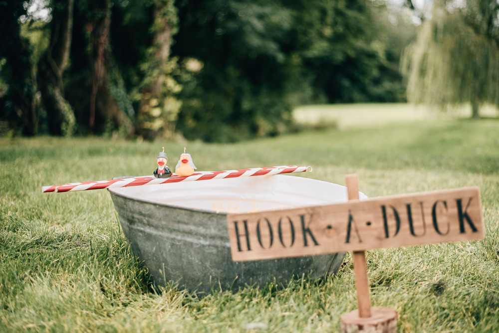 Hook A Duck Fete Game Eco Friendly Wedding Inspiration Sarah Jayne Photography