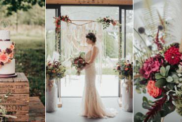 Autumnal Bohemian Eco Friendly Wedding Inspiration