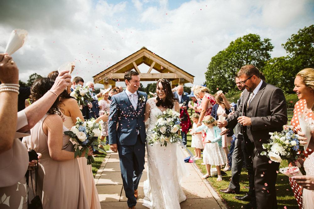 Confetti Eden Barn Wedding Margarita Hope Photography