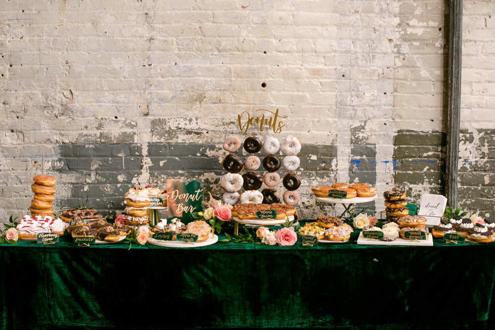 Dessert Table Floral Minneapolis Wedding Jeannine Marie Photography