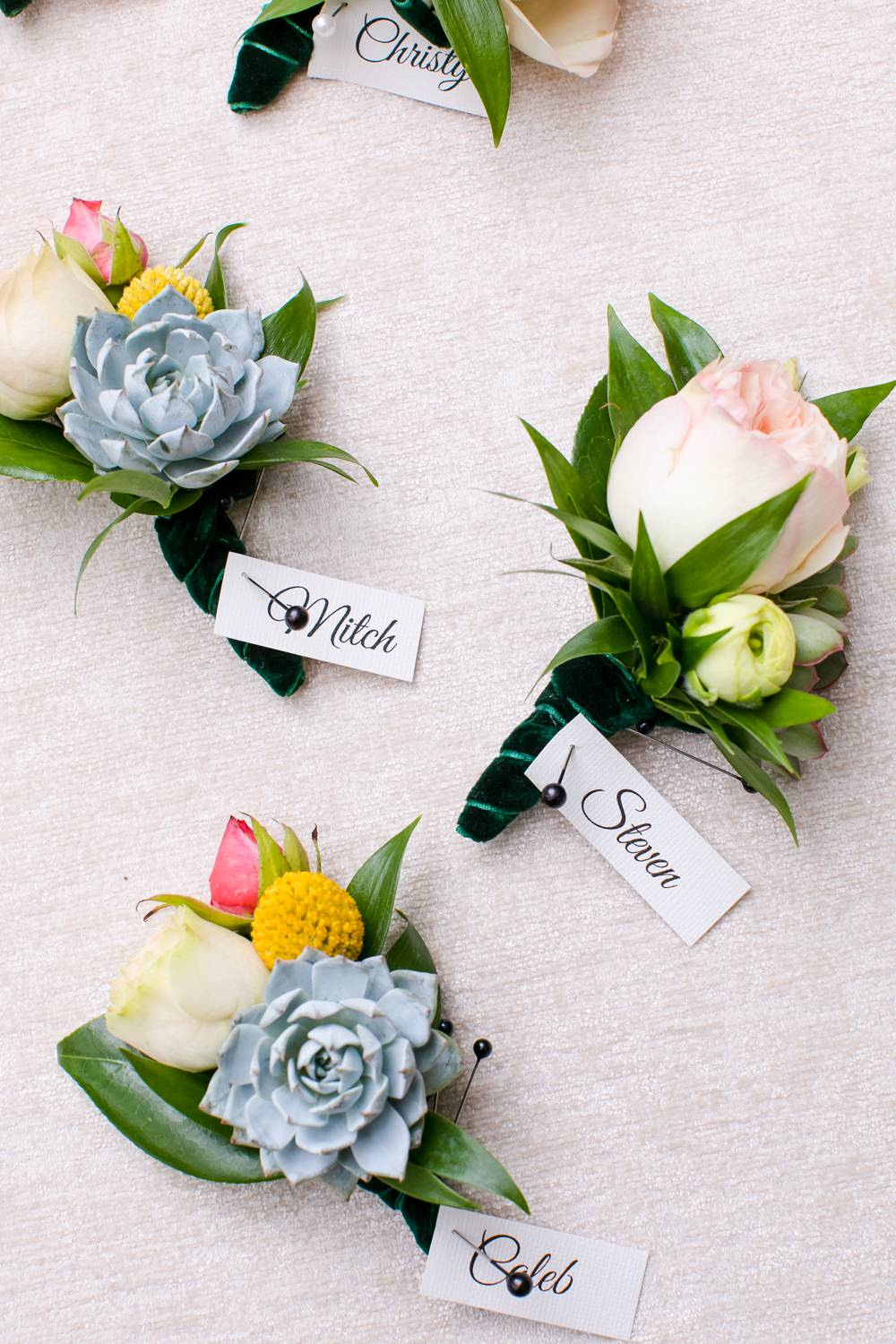 Buttonhole Flowers Floral Minneapolis Wedding Jeannine Marie Photography