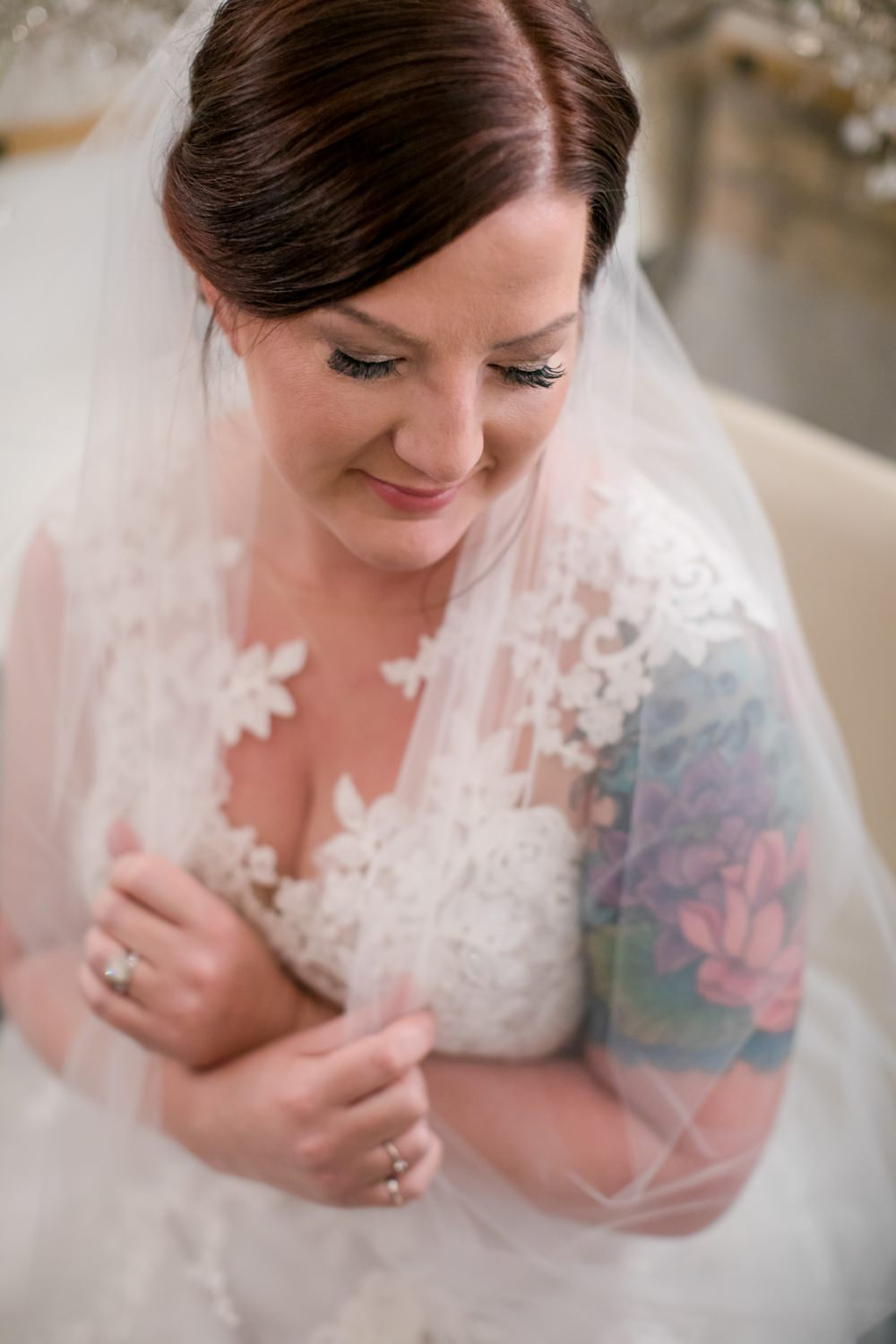 Bride Bridal Hair Make Up Floral Minneapolis Wedding Jeannine Marie Photography