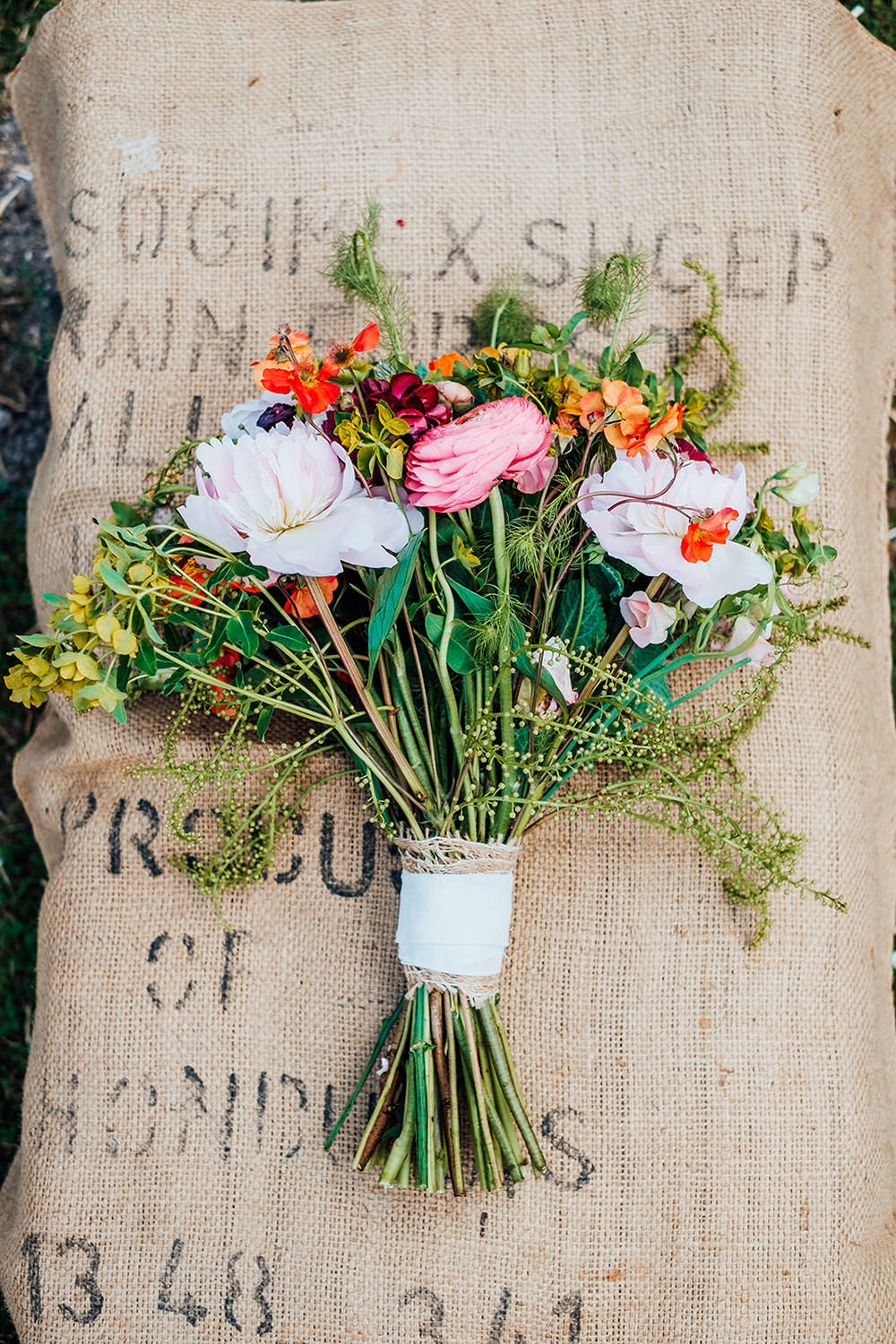Bouquet Flowers Bride Bridal Wildflowers Hookhouse Farm Wedding Anna Pumer Photography
