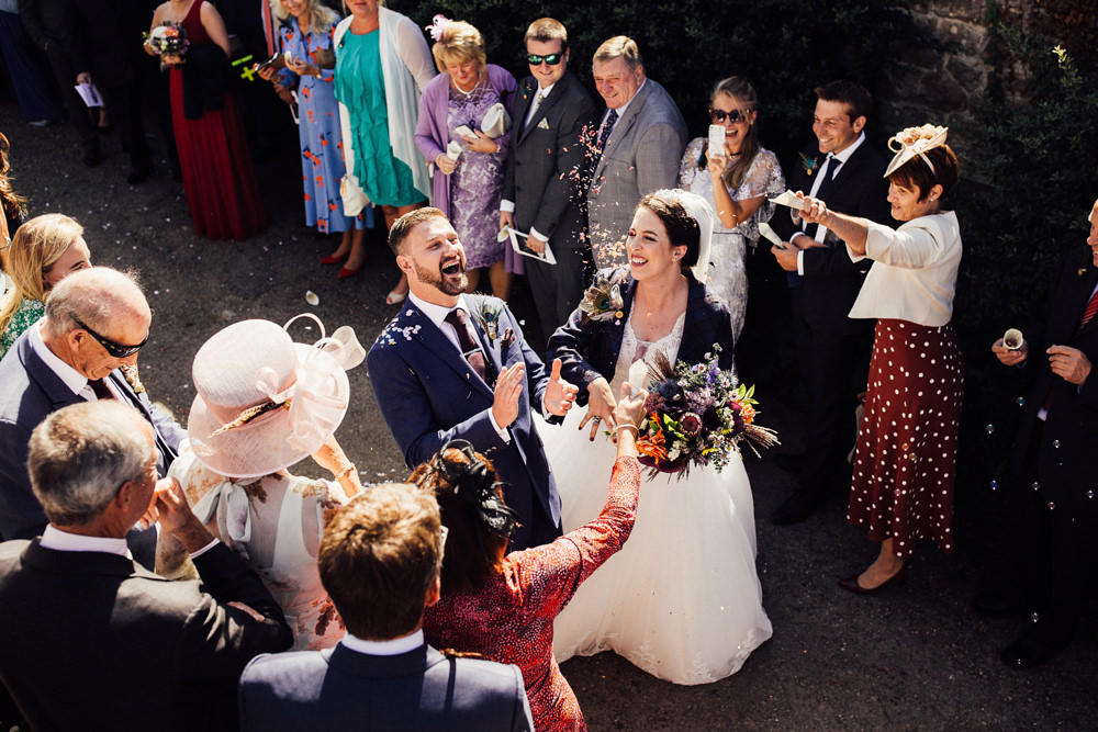 Confetti Longton Wood Wedding Alex Tenters Photography