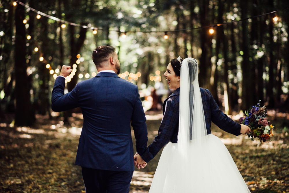 Jacket Bride Bridal Longton Wood Wedding Alex Tenters Photography