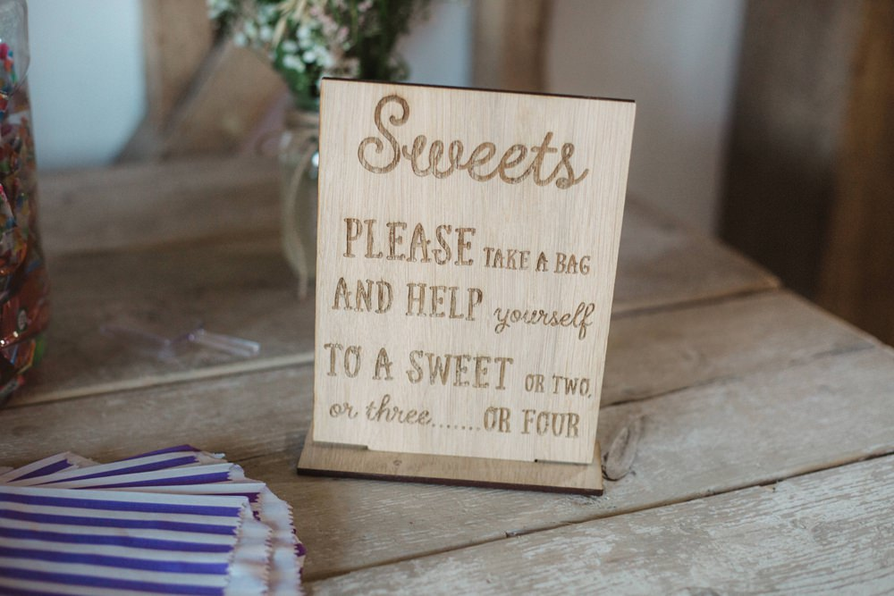 Sweets Sweetie Table Bar Milling Barn Wedding Hertfordshire Emily Tyler Photography