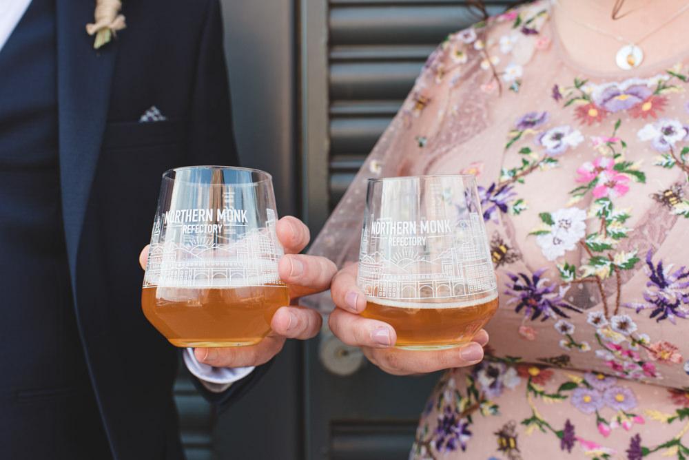 Northern Monk Brewery Wedding Lisa Howard Photography