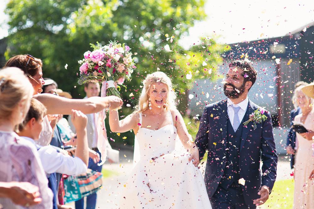 Confetti Throw Rustic Tipi Wedding Cotton Candy Weddings
