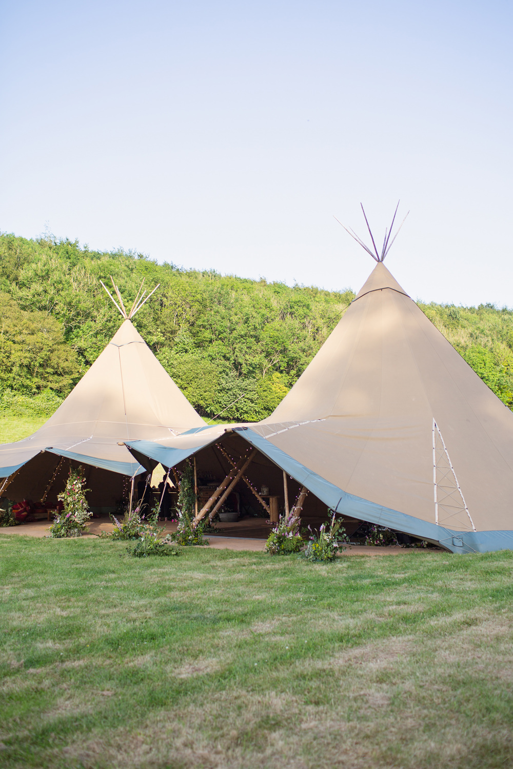 Rustic Tipi Wedding Cotton Candy Weddings