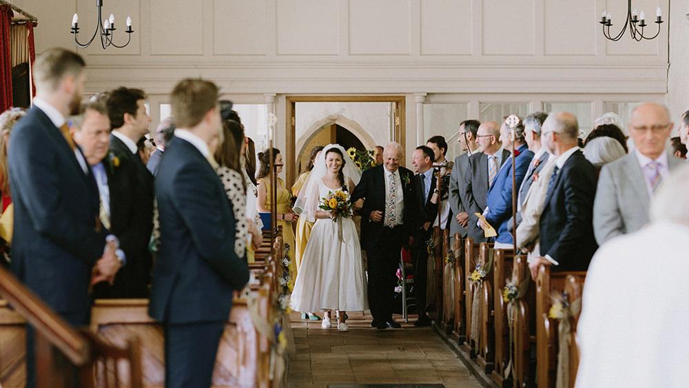 Sunflowers Wedding Chris Bradshaw Photography