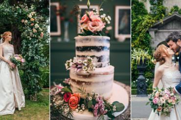 Genuine & Relaxed Summer Garden Party Wedding