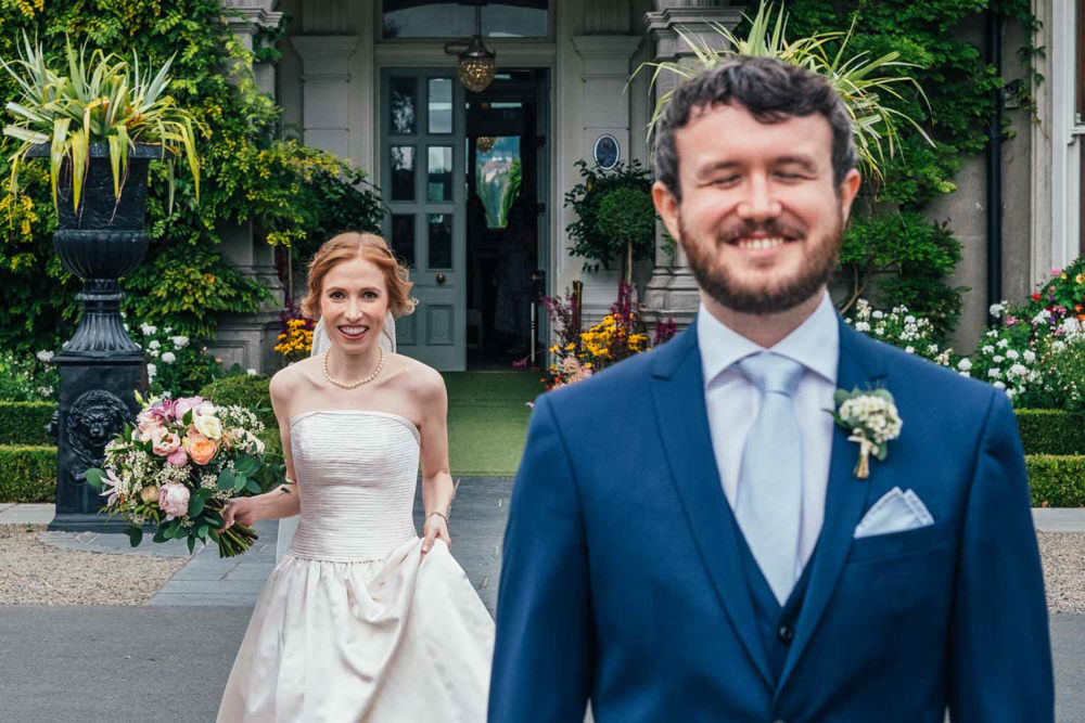 First Look Tinakilly Country House Wedding Conor Brennan Photography