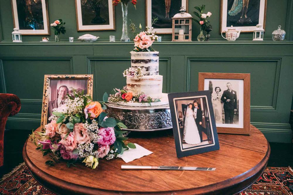 Cake Table Photos Tinakilly Country House Wedding Conor Brennan Photography