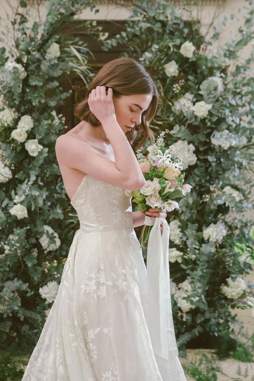 Bride Bridal Dress Gown Naomi Neoh Lace Tulle Train Whimsical Elegant Wedding Ideas Mandorla London