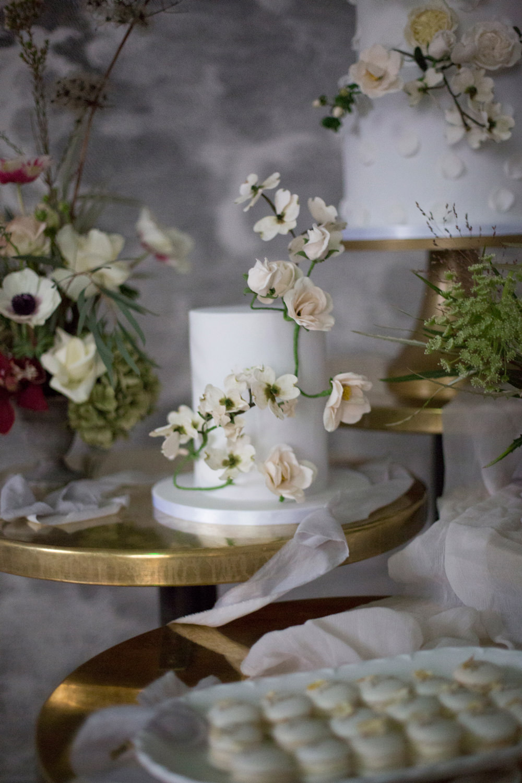 Floral Flower Cake Whimsical Elegant Wedding Ideas Mandorla London