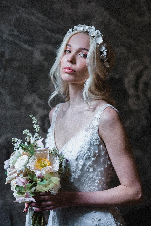 Bride Bridal Make Up Whimsical Elegant Wedding Ideas Mandorla London