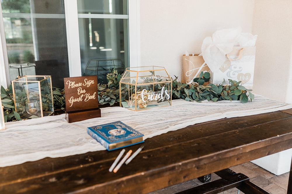 Guest Book California Ranch Wedding WildflowerPhotoCo