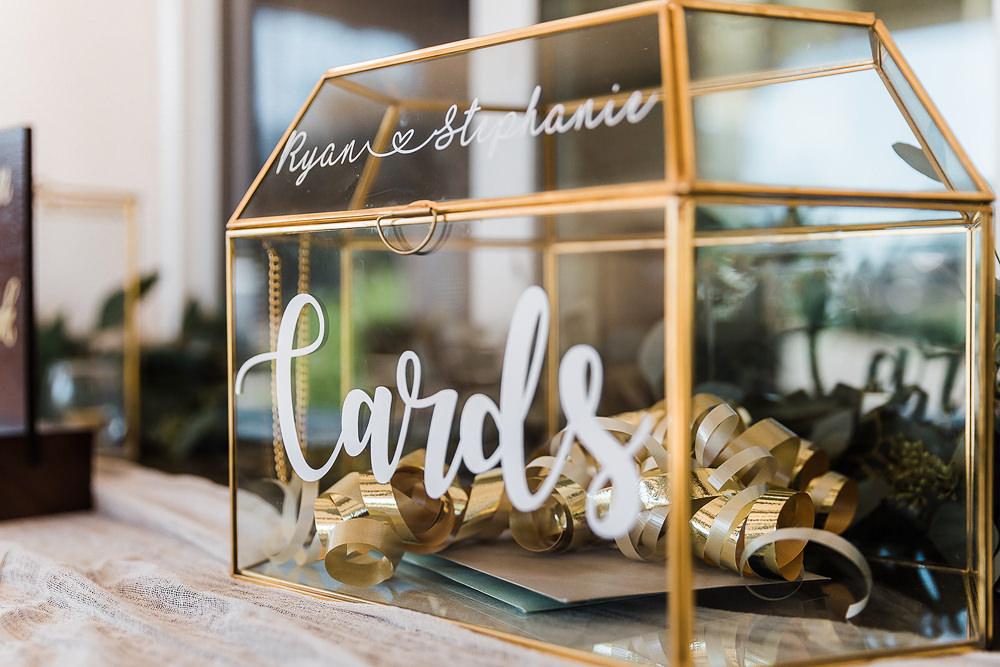 Card Box Terrarium California Ranch Wedding WildflowerPhotoCo