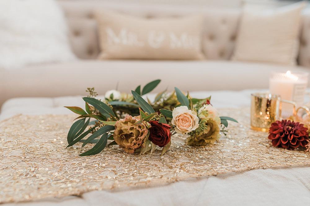 Flower Crown California Ranch Wedding WildflowerPhotoCo