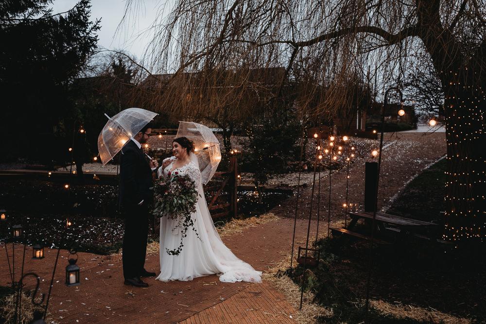 Shepherd Crook Festoon Lights Lighting Christmas Marquee Wedding Thyme Lane Photography