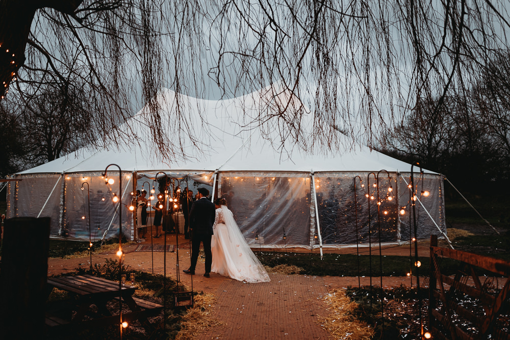 Sailcloth Tent Lights Lighting Christmas Marquee Wedding Thyme Lane Photography