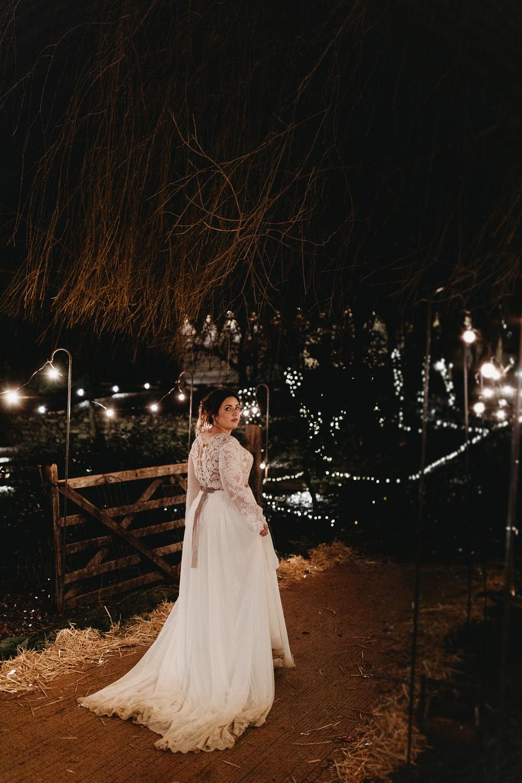 Christmas Marquee Wedding Thyme Lane Photography