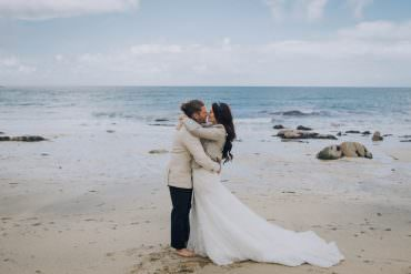 Dreamy Boho Beach Wedding with Multicolour Styling